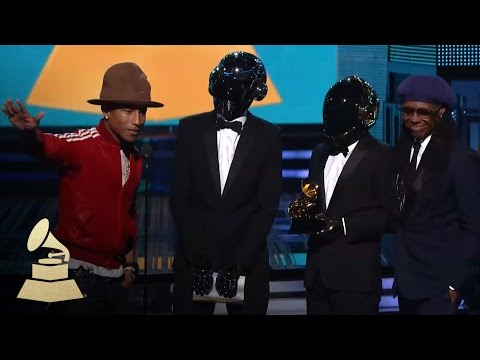Daft Punk Win Best Pop Duo Group Performance for Get Lucky | GRAMMYs