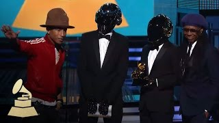Daft Punk Win Best Pop Duo Group Performance For Get Lucky  Grammys