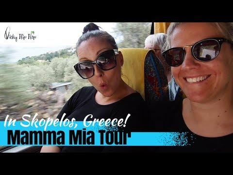 Our Mamma Mia Tour in Skopelos, Greece