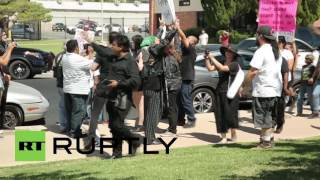 USA: Christians confront Satanist '666' ritual in Lancaster