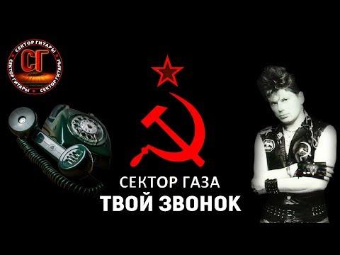 Как играть на гитаре СЕКТОР ГАЗА - ТВОЙ ЗВОНОК (РАЗБОР)