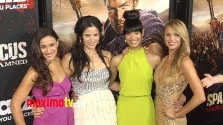 """SPARTACUS War Of The Damned"" Premiere Liam McIntyre, Lucy Lawless, Dustin Clare, VIva Bianca"