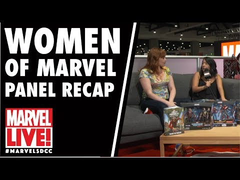 Rainbow Rowell & Women of Marvel Panel Recap on Marvel LIVE! at San Diego Comic-Con 2017