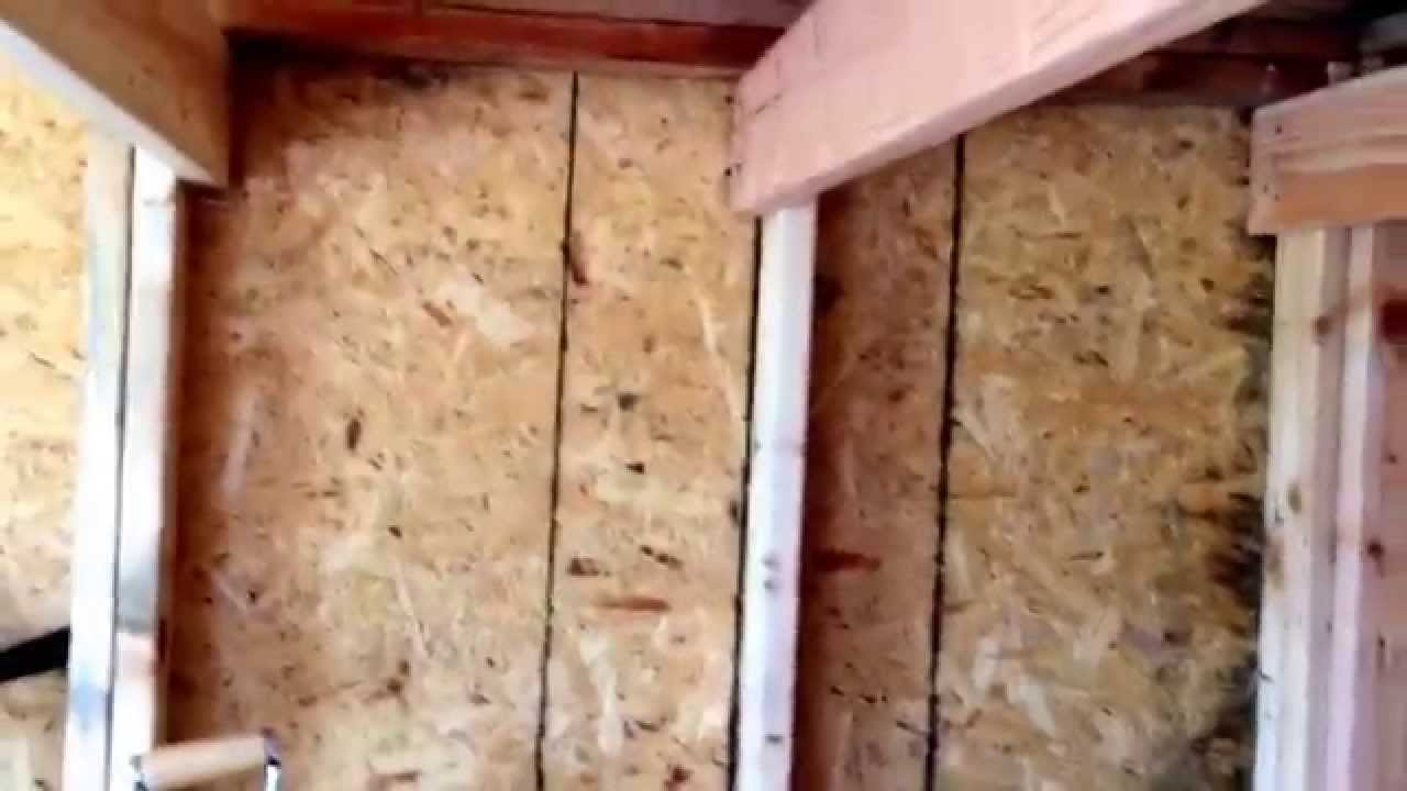 How to build a loft in a shed part 2 YouTube