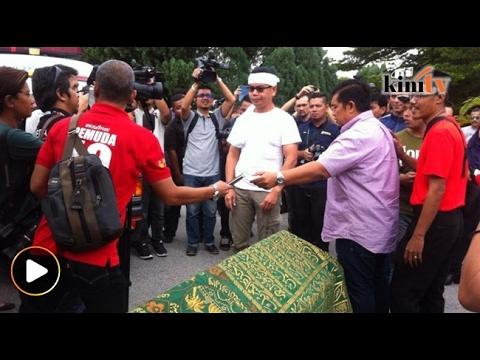 Insiden kecoh Jamal bawa van jenazah, keranda di SUK Selangor