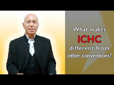 What makes ICHC different from other conventions?