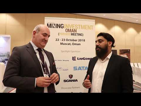 Interview with Paul Fayez from Scania at Mining Investment Oman