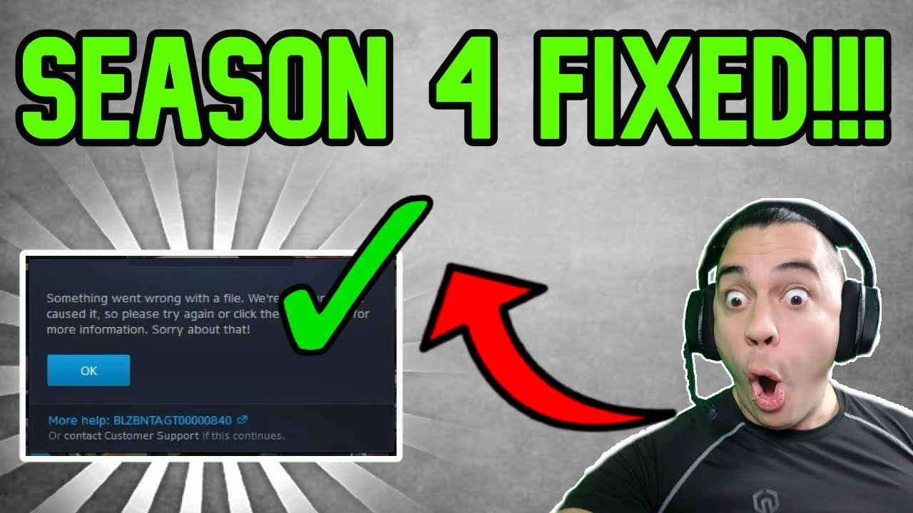 Download How To FIX WARZONE SEASON 4 ERRORS CRASHES! - CALL OF DUTY Cold War!