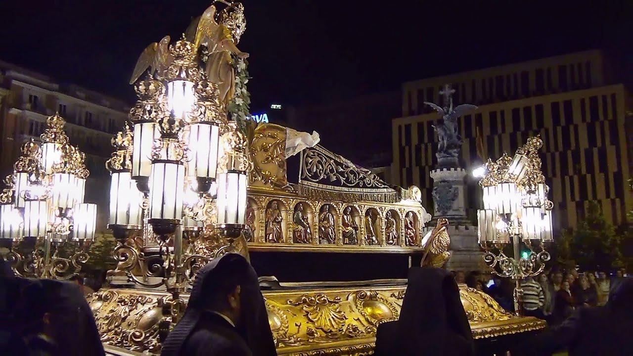 Viernes santo procesi n del santo entierro 3 parte - Ropa de cama zaragoza ...