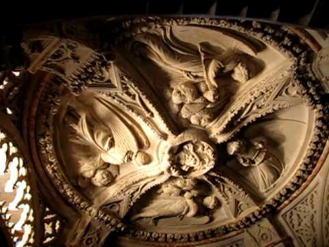 "Sights and Sounds from Europe #5--""Baptistry ceiling in Cathedral of St James"""