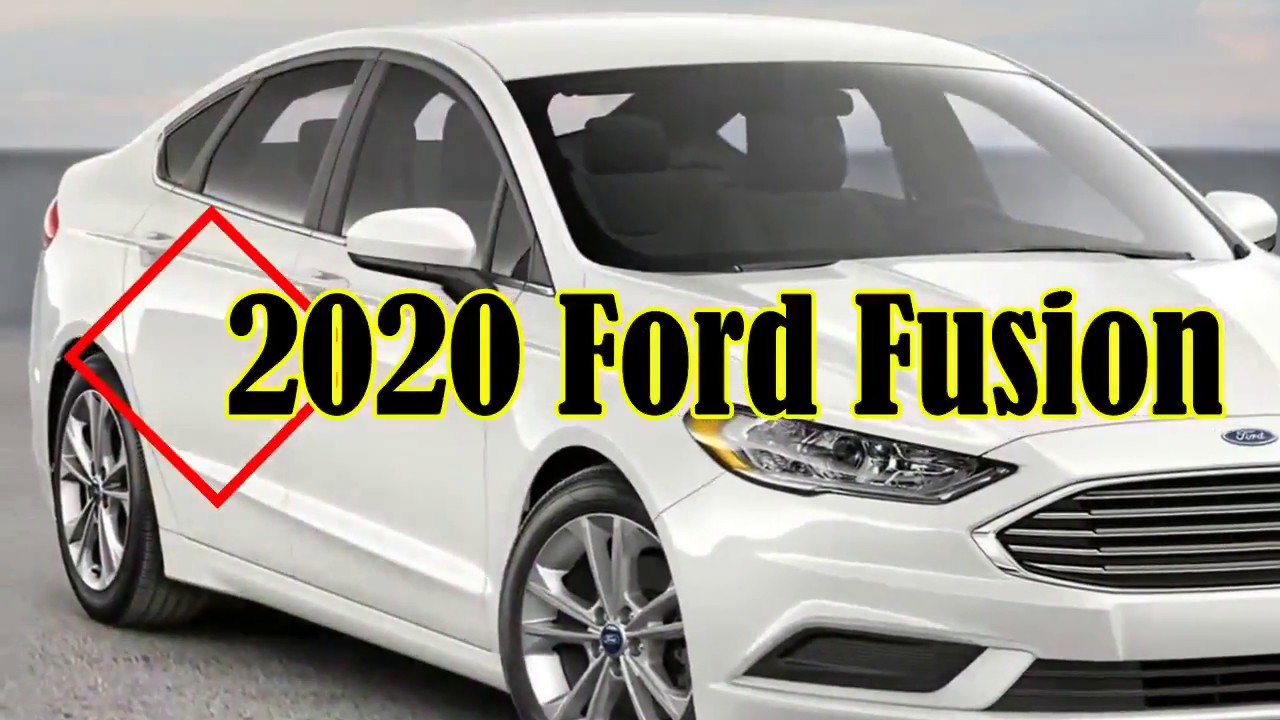 [Must Watch] 2020 Ford Fusion - FORD Cancelled The Planned Redesign For The  2020 Fusion
