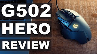 BEST PHOTO & VIDEO Editing MOUSE? | G502 Hero Review And Unboxing