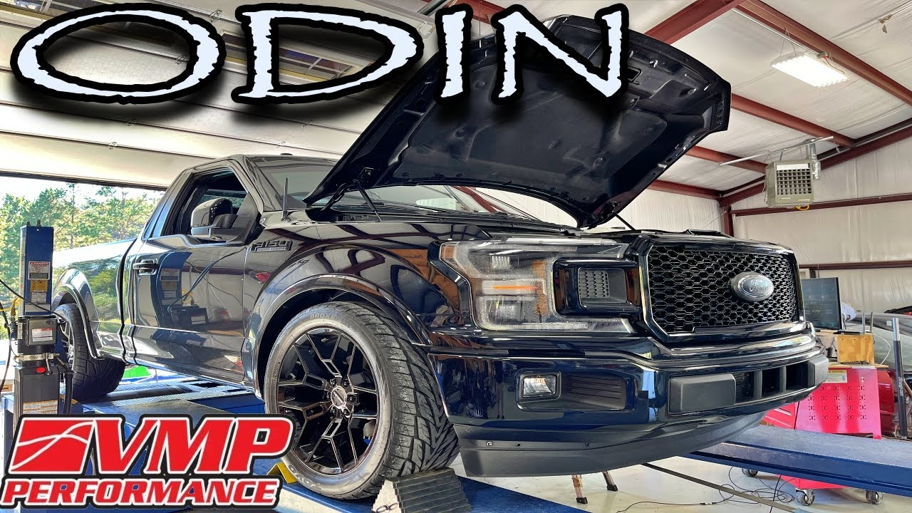 Download VMP Odin powered, Coyote F150 hits the dyno // EPIC NUMBERS