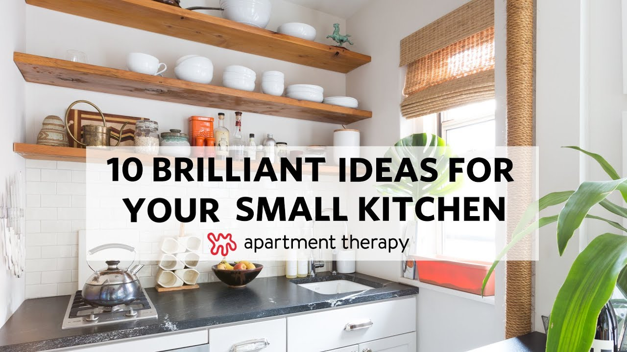 10 Solutions For Your Small Kitchen Apartment Therapy