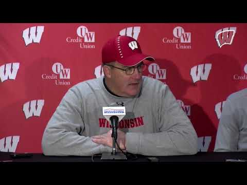 Wisconsin Sports - Paul Chryst Post-Game Presser: Wisconsin 49, Illinois 20