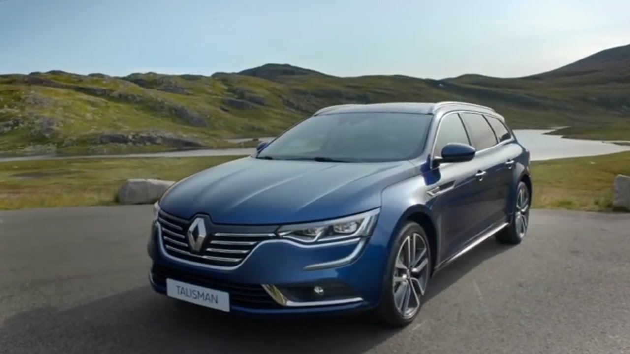renault talisman estate 2015 youtube. Black Bedroom Furniture Sets. Home Design Ideas