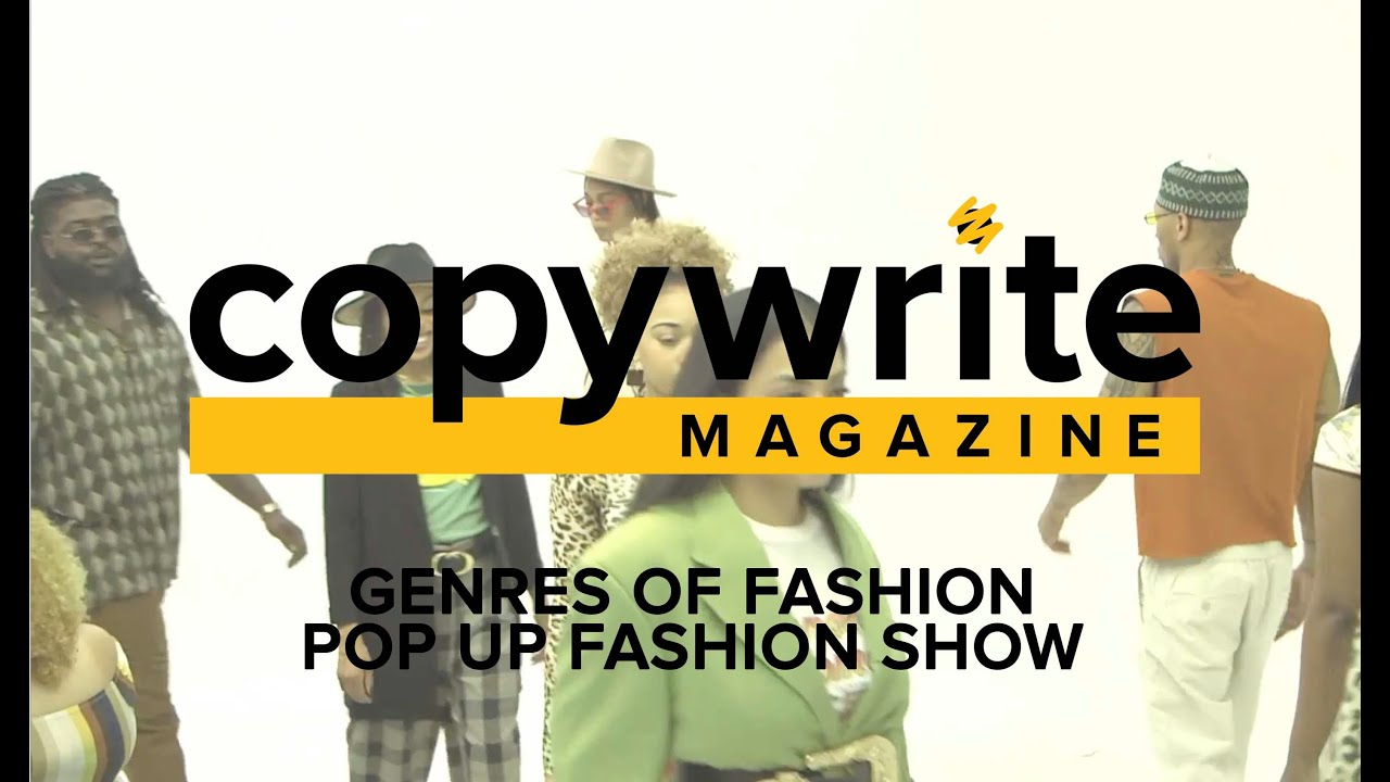 Genres of Fashion: Pop Up Fashion Show