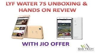 LYF WATER 7S UNBOXING AND HANDS ON REVIEW