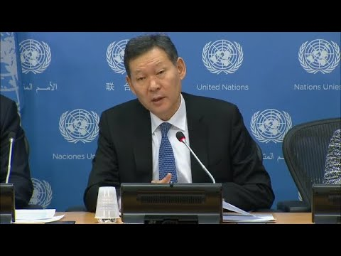 SC President (Kazakhstan) on Security Council programme of work in January 2018 - Press Conference