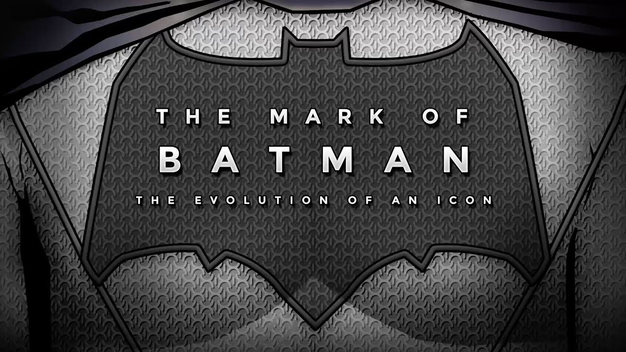 sc 1 st  YouTube & Bat Symbol Evolution- Batman Infographic - YouTube