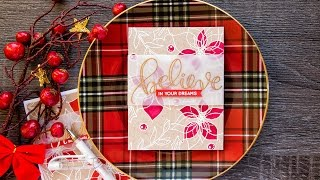 Two ways to color on Kraft Cardstock