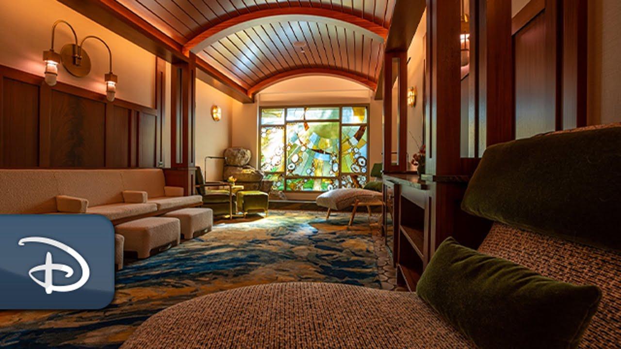 All-New Tenaya Stone Spa Grand Opening - Disney's Grand Californian Hotel & Spa | Disneyland Resort