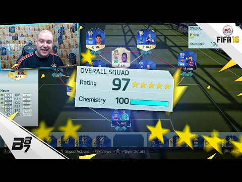 HIGHEST RATED TEAM ON FIFA! 197! | FIFA 16