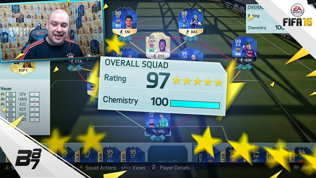 HIGHEST RATED TEAM ON FIFA! 197! | FIFA 16 - YouTube