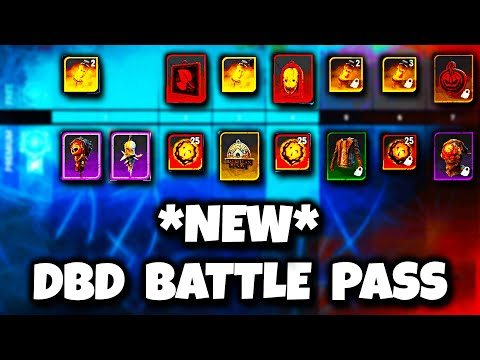 NEW DBD BATTLE PASS! (ARCHIVES AND RIFT UPDATE!) | Dead by Daylight
