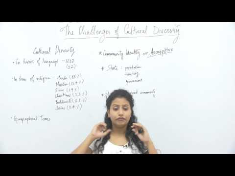 Sociology_XII_Challenges of Cultural Diversity Part1_Diversity & Identity_Swati Chakravorty