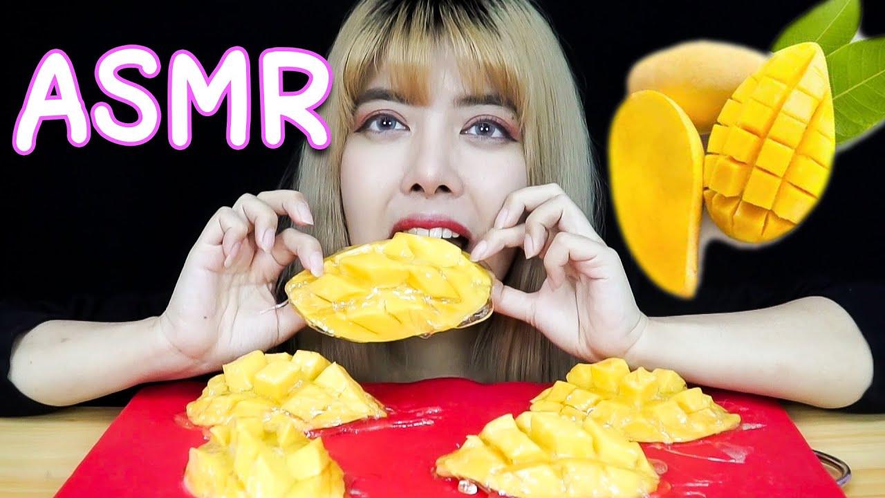 มะม่วงเคลือบน้ำตาล ASMR
