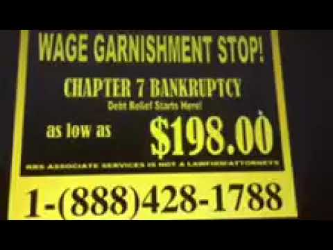 WAGE GARNISHMENT RELIEF IN LAS VEGAS: CHAPTER 7 BANKRUPTCY