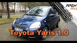 2003 Toyota Yaris P1 1.0 VVT-i   Test Drive & In Depth Review   4k