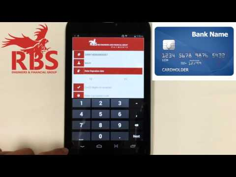 How to Make a Transaction on the RBS Mobile Payment App (Manual Entry)
