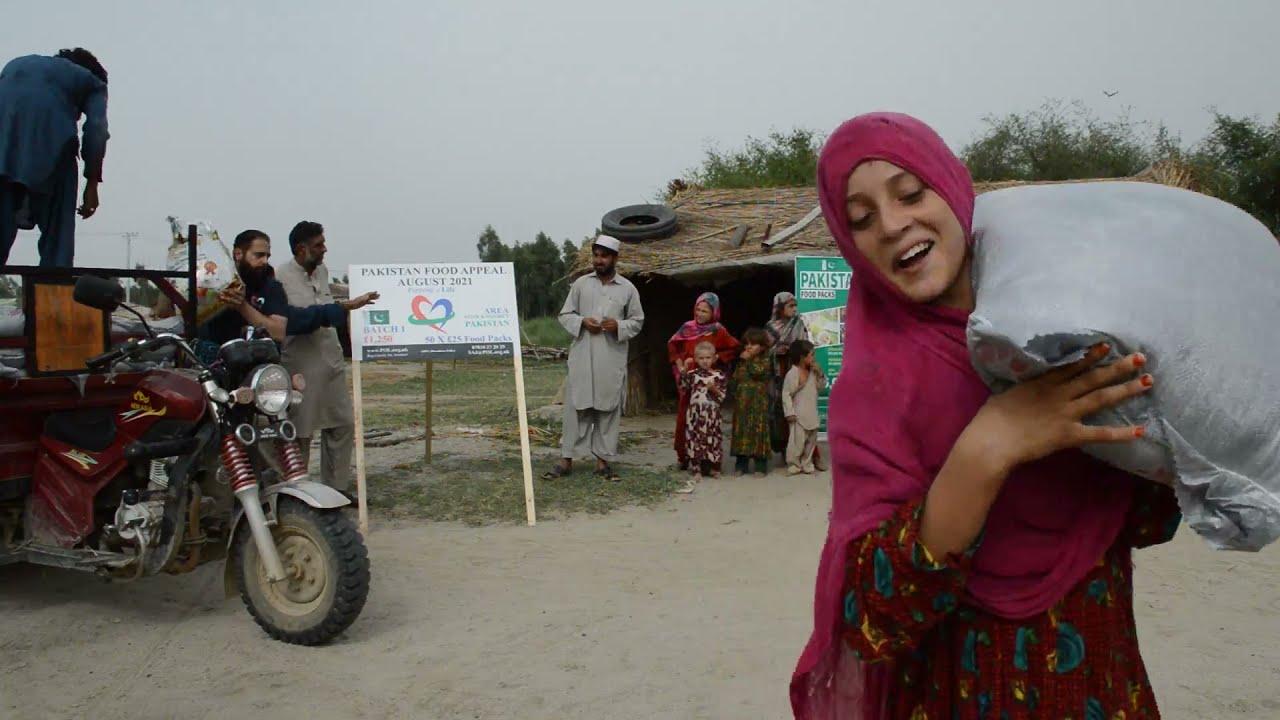 POVERTY STRIKING HARD IN PAKISTAN