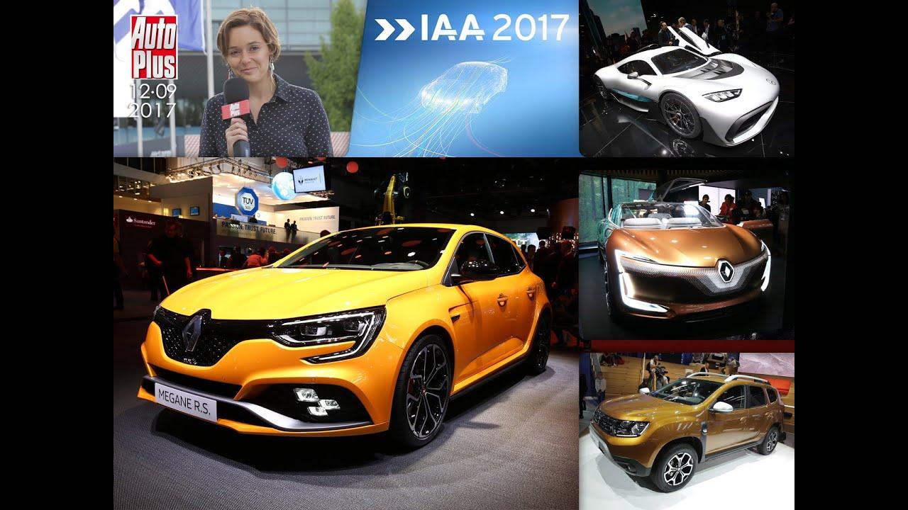 Journal tv du 12 09 2017 en direct du salon de francfort for Auto journal salon 2017