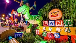 Disney Toy Story Land E-Ticket Ride Concept