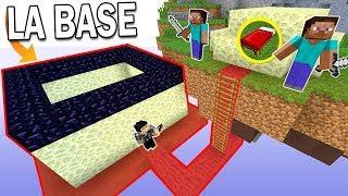 UNE BASE ULTRA SÉCURISÉE SOUS UNE BASE ! | Minecraft Bed Wars