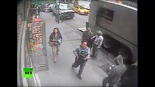 Ограбление по-американски: прохожий украл 40 кг золота из бронированного грузовика