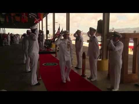 Admiral Harry Harris Takes Command of U.S. Pacific Fleet