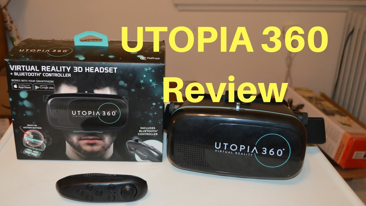 510e4c9e1 Utopia 360 Virtual Reality Review - YouTube