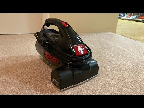 My dirt devil hand vacuum model SD12000