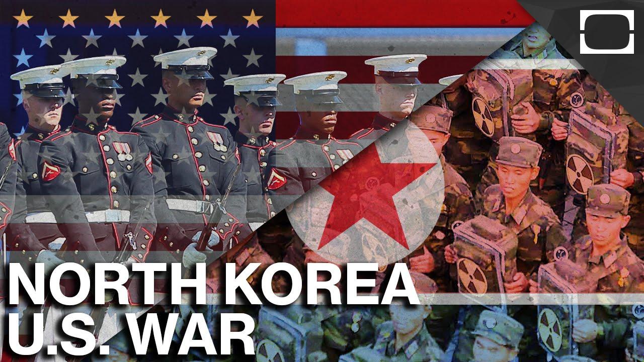 guerra entre Coréia do Norte e Estados Unidos