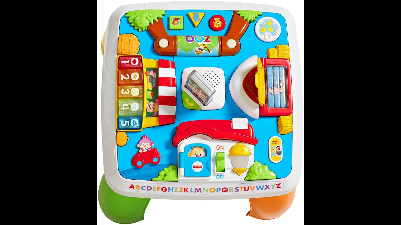 Fisher Price Laugh Learn Around The Town Learning Table Youtube