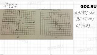 № 427 - Математика 6 класс Зубарева