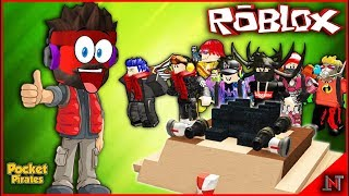 ROBLOX Indonesia #177 Pocket Pirates | The boat
