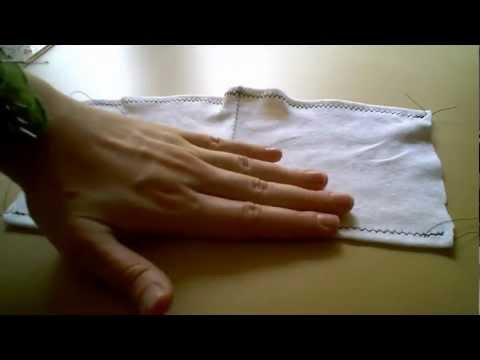 How To Sew - Hemming Knits and Stretch Fabrics