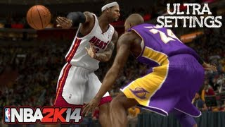 NBA 2K14 Maxed Out Very High Ultra Settings PC Gameplay I7 2600K HD6970 8GB Ram