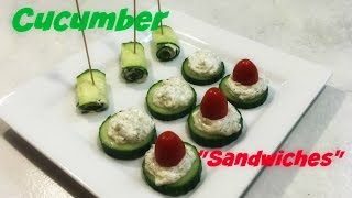 What I Ate To Lose 100lbs ~Cucumber Sandwiches~