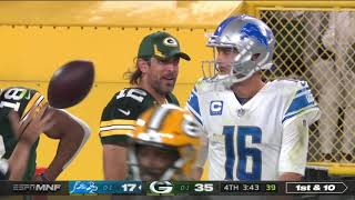 Aaron Rodgers welcomes Jared Goff to the NFC North